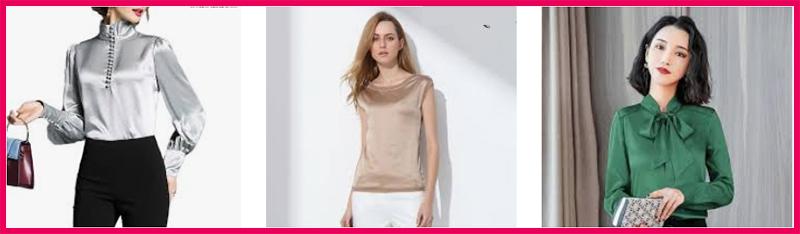 Camisas para mujer de seda